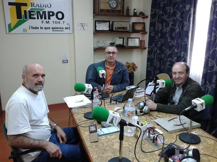 Estuvimos en Radio Tiempo Tenerife