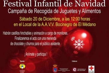 Festival Infantil de Navidad en El Médano