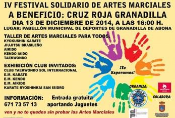 Festival Solidario de Artes Marciales con recogida de juguetes