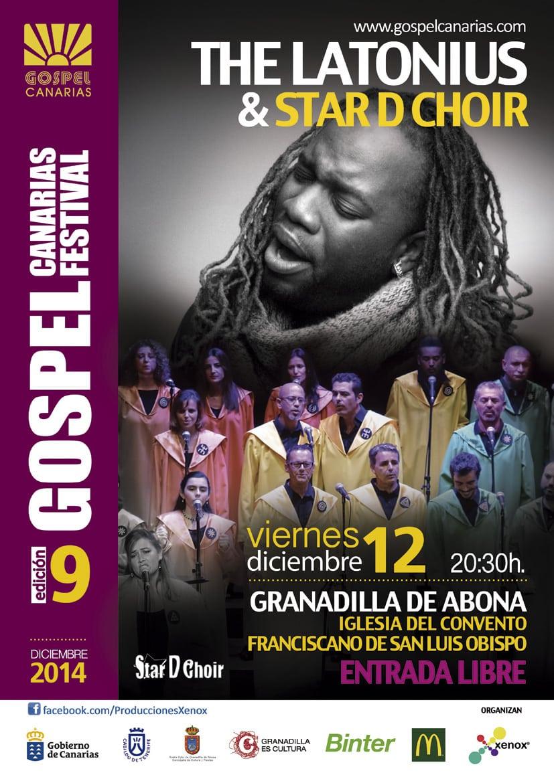 Actuación del 'Festival Góspel Canarias' en el Convento Franciscano del Casco