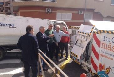 Novedoso contenedor compactador para Los Abrigos
