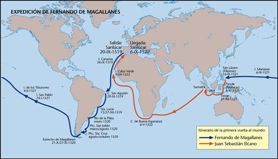 La 'Guía Histórica sobre la escala de Magallanes y Elcano en Tenerife'