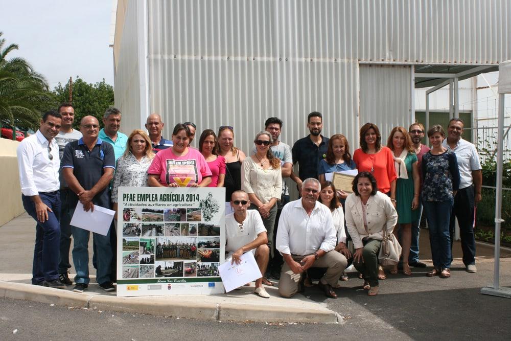 Quince nuev@s titulad@s del sector agrario