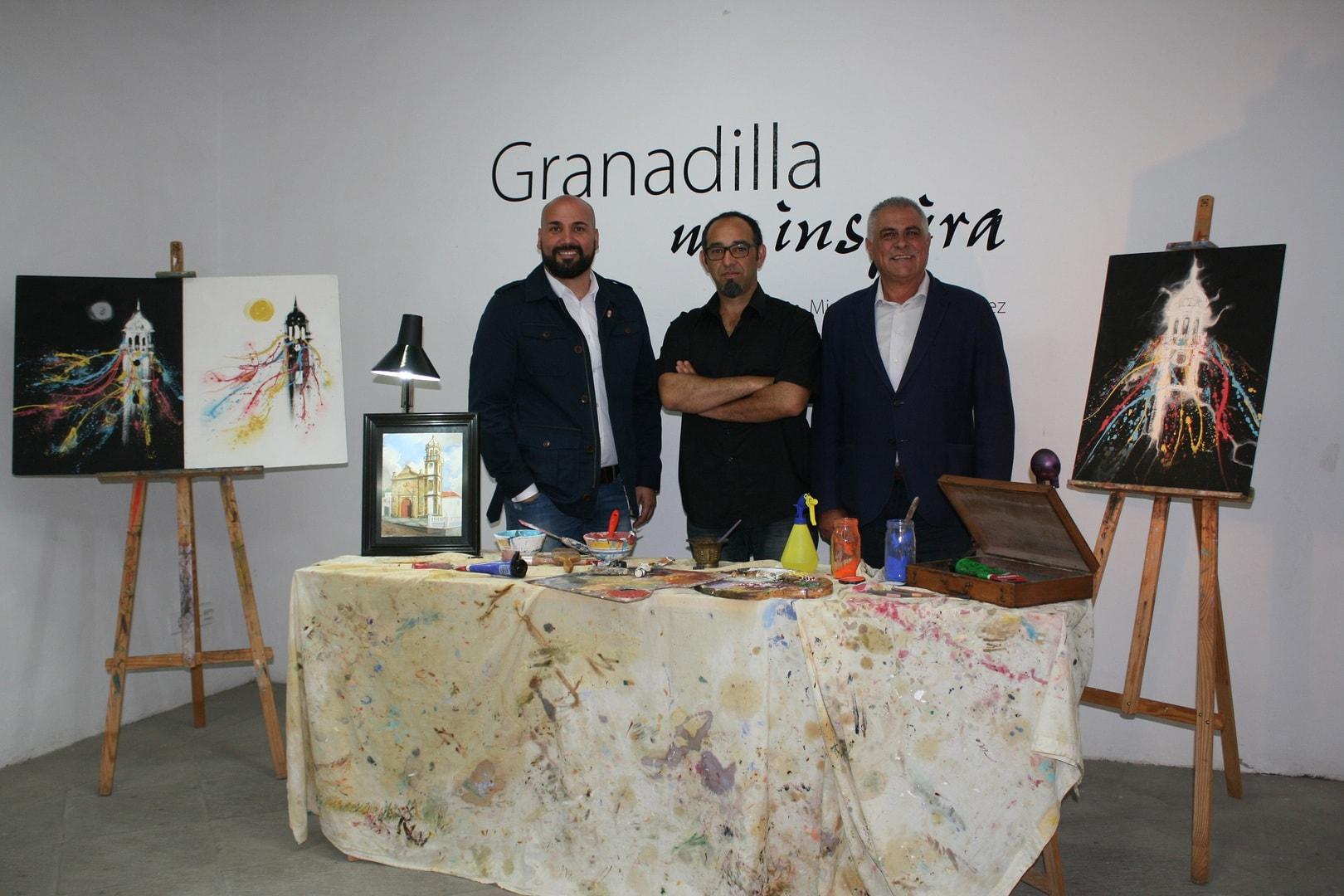 Miguel Ángel González Marrero, el autor del cartel de las Fiestas Patronales 2016