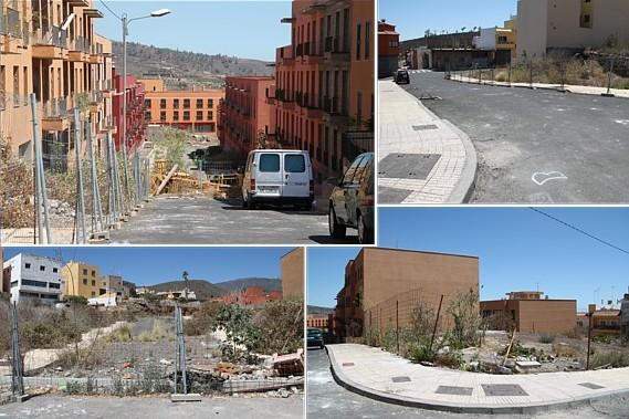 Al Ayuntamiento, con decepción por su dejadez con 'la favela de Granadilla'
