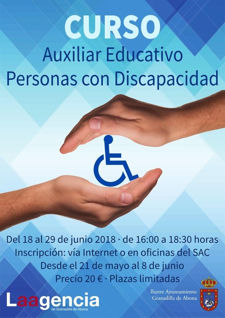La inscripción para el curso de 'Auxiliar Educativo Personas con Discapacidad' a realizar en San Isidro finaliza este viernes