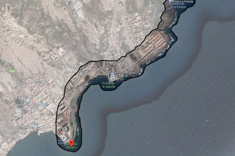Sobre el deslinde marítimo entre la Punta de El Médano y la Playa de Pelada iniciado por Costas que afecta a 92 propiedades (I)