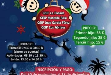 La inscripción al 'Campamento de Navidad 2018' finaliza este martes 18 de diciembre