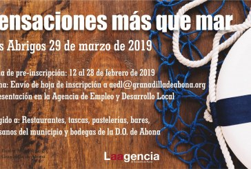 'Sensaciones más que mar', este viernes en Los Abrigos
