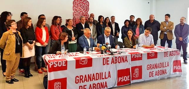 El PSOE de Granadilla de Abona, un clásico de la política municipal