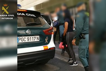 El desarrollo de la operación 'Proditor' por la Guardia Civil dio como resultado la desarticulación de varios 'narcopisos' en El Médano