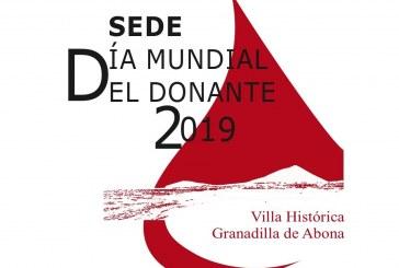 Acto del 'Día Mundial del Donante de Sangre 2019' este viernes, y 'Feria de Colectivos de Acción Social y de Salud'  este sábado, en el Casco