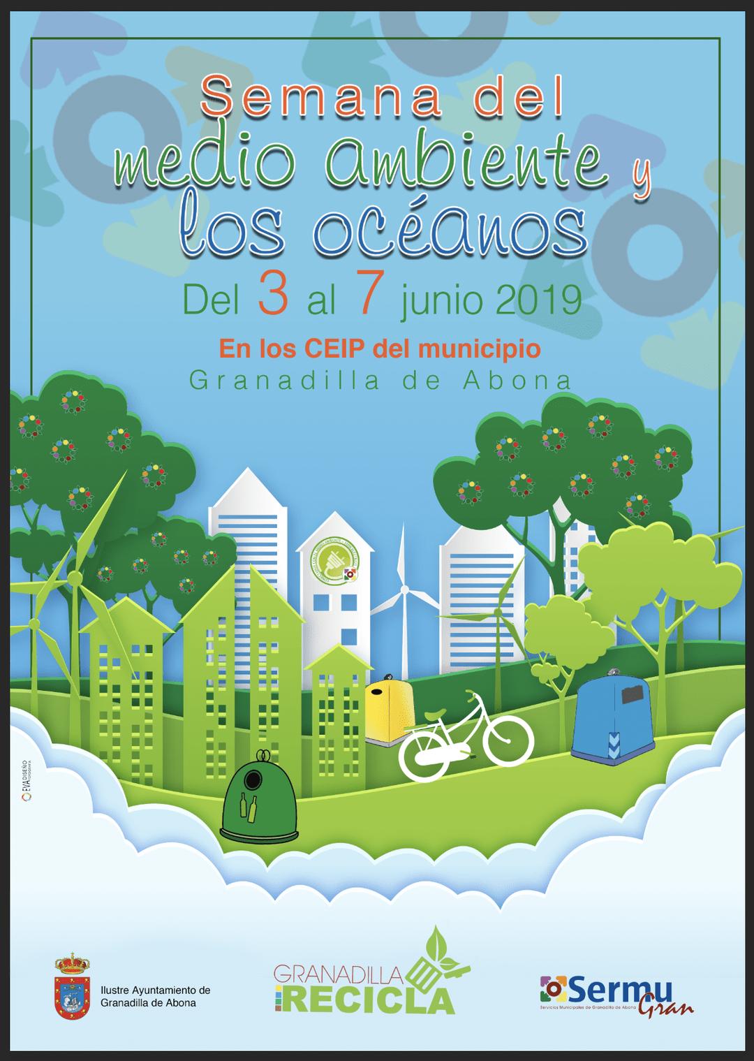 Actividades con motivo del 'Día Mundial del Medio Ambiente y los Océanos' del 3 al 7 de junio, y V edición de los premios 'Danos la Lata' este miércoles en el SIEC