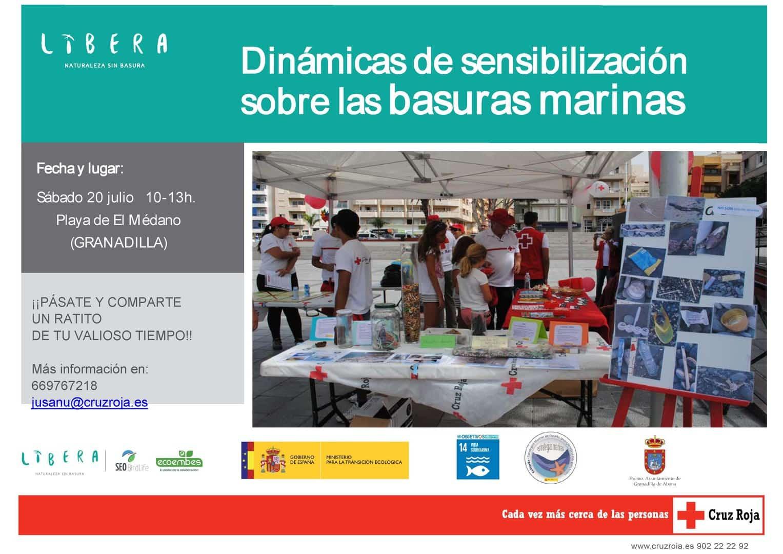 Taller de 'Dinámicas de sensibilización sobre las basuras marinas' este sábado en El Médano