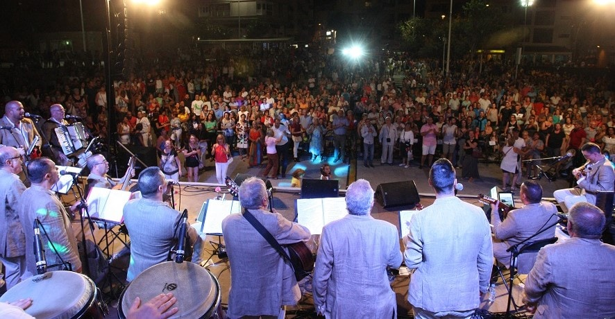 Concierto de 'Parranda Chasnera con la solista Candelaria González' este sábado en El Médano dentro de la programación de 'Sansofé 2019'