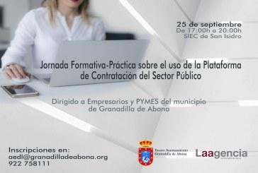 La jornada formativa teórico-práctica para PYMES y entidades privadas  sobre el 'Uso de la Plataforma de Contratación del Sector Público', este miércoles en San Isidro