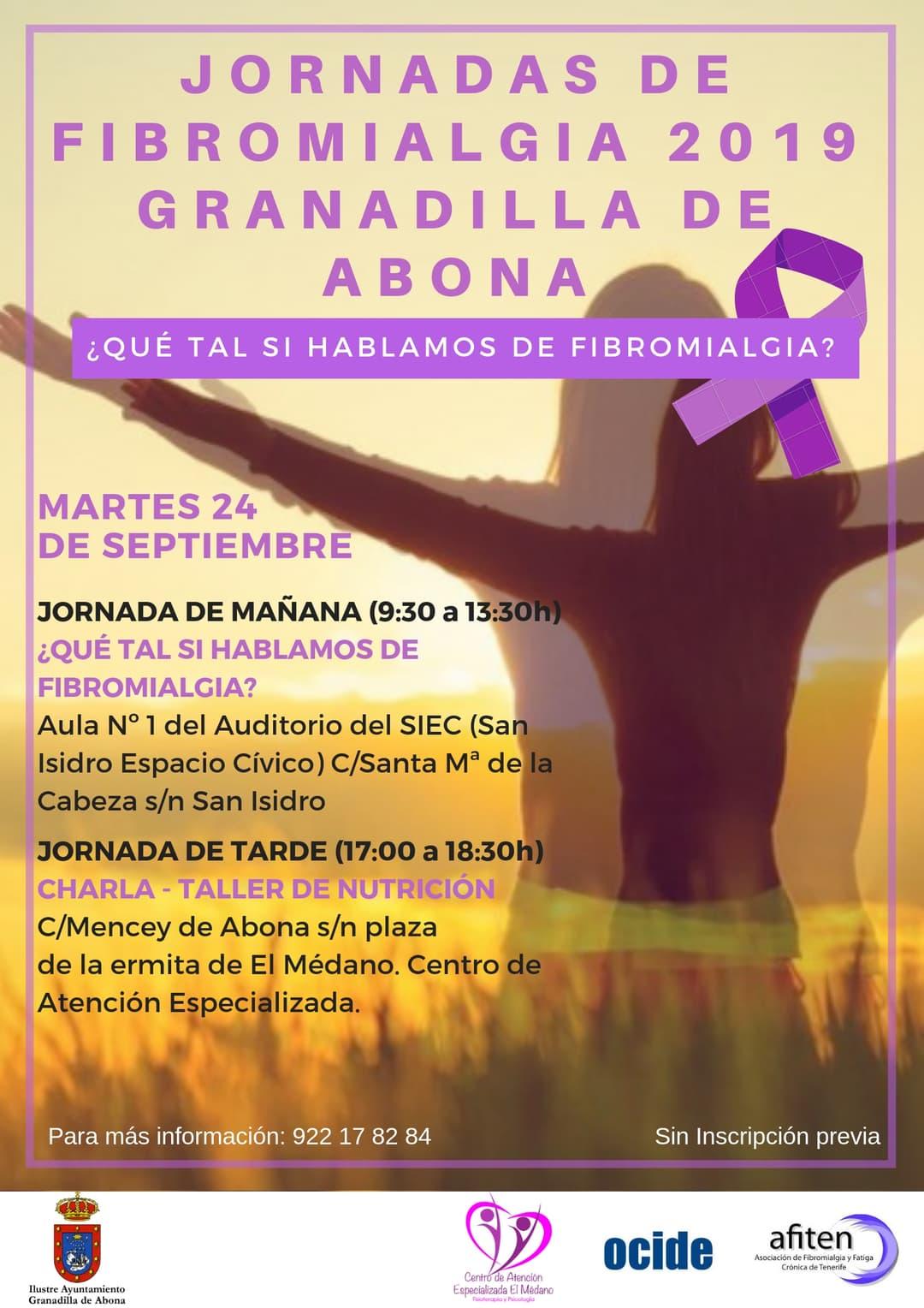 La Jornada de puertas abiertas '¿Qué tal si Hablamos de Fibromialgia?', este martes en San Isidro