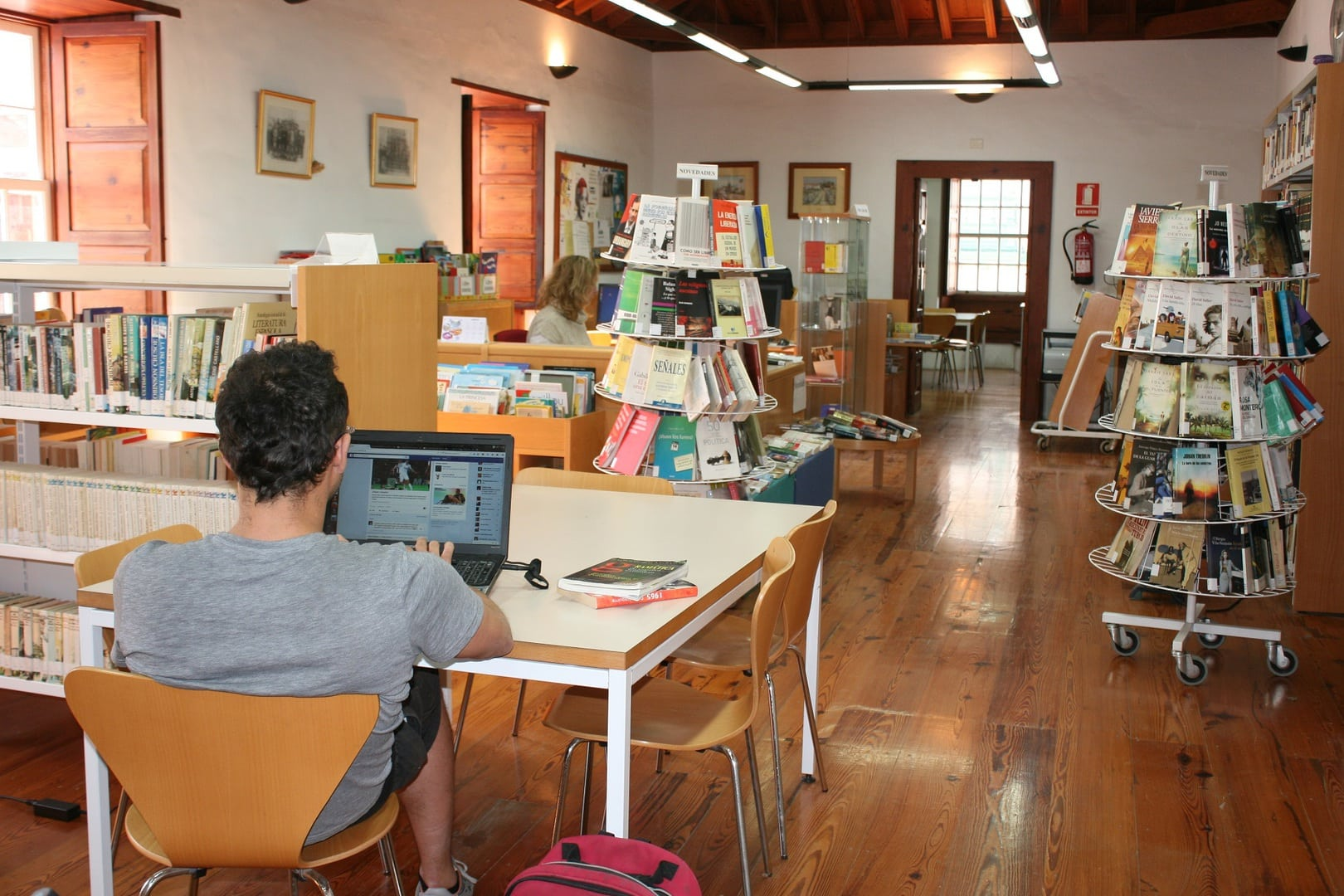 Actividades con motivo del 'Día de la Biblioteca' este viernes y sábado en el Casco y San Isidro