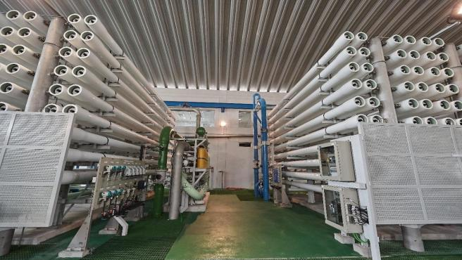 San Isidro recibe más agua desalada para combatir la sequía causada por los efectos del  cambio climático