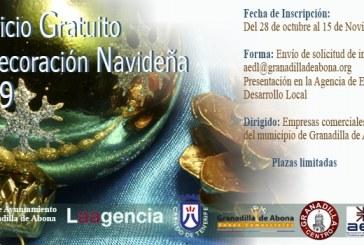 La solicitud del 'Servicio Gratuito de Decoración Navideña' para establecimientos comerciales del municipio, hasta el 15 de noviembre