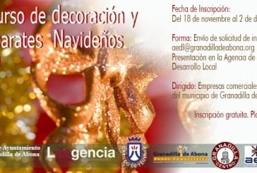 El plazo para solicitar participar en el 'Concurso de Decoración y Escaparates Navideños' finaliza el próximo lunes
