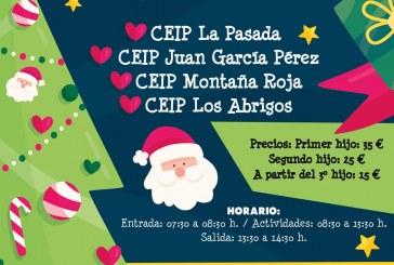 Este viernes finaliza el plazo para inscribirse al 'Campamento de Navidad 2019-2020'