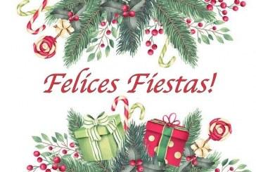 ¡Felices Fiestas! ¡Feliz Navidad!