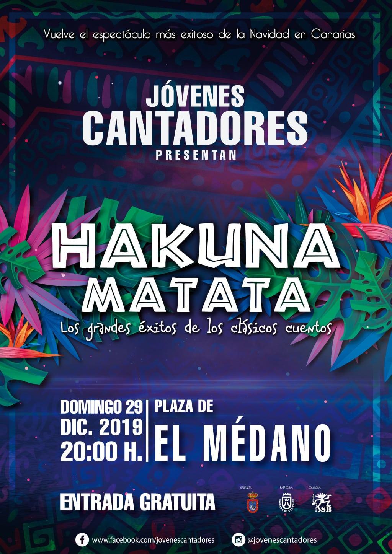 El Gran Concierto 'Hakuna Matata' de Jóvenes Cantadores, este domingo en El Médano
