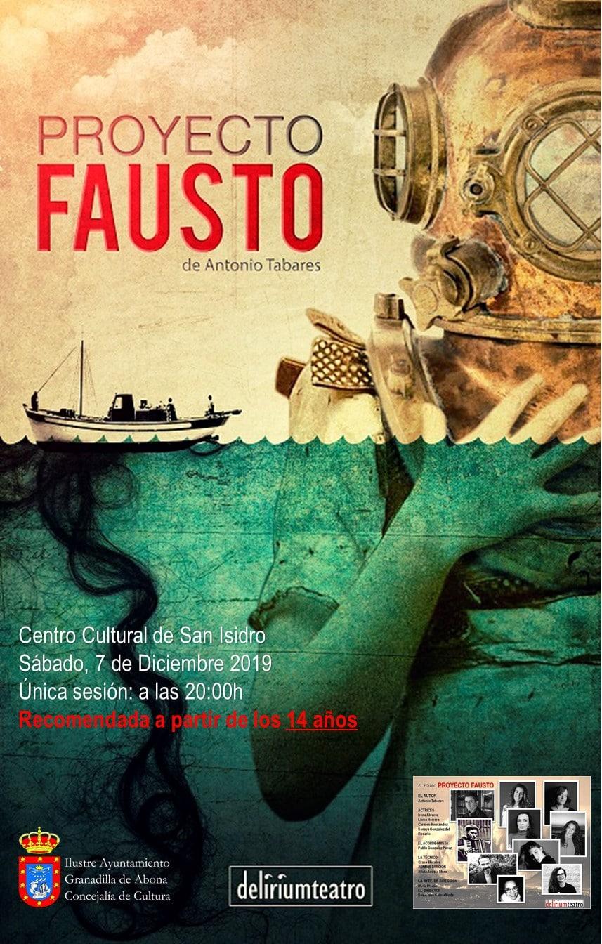 La obra de teatro 'Proyecto Fausto' este sábado en San Isidro