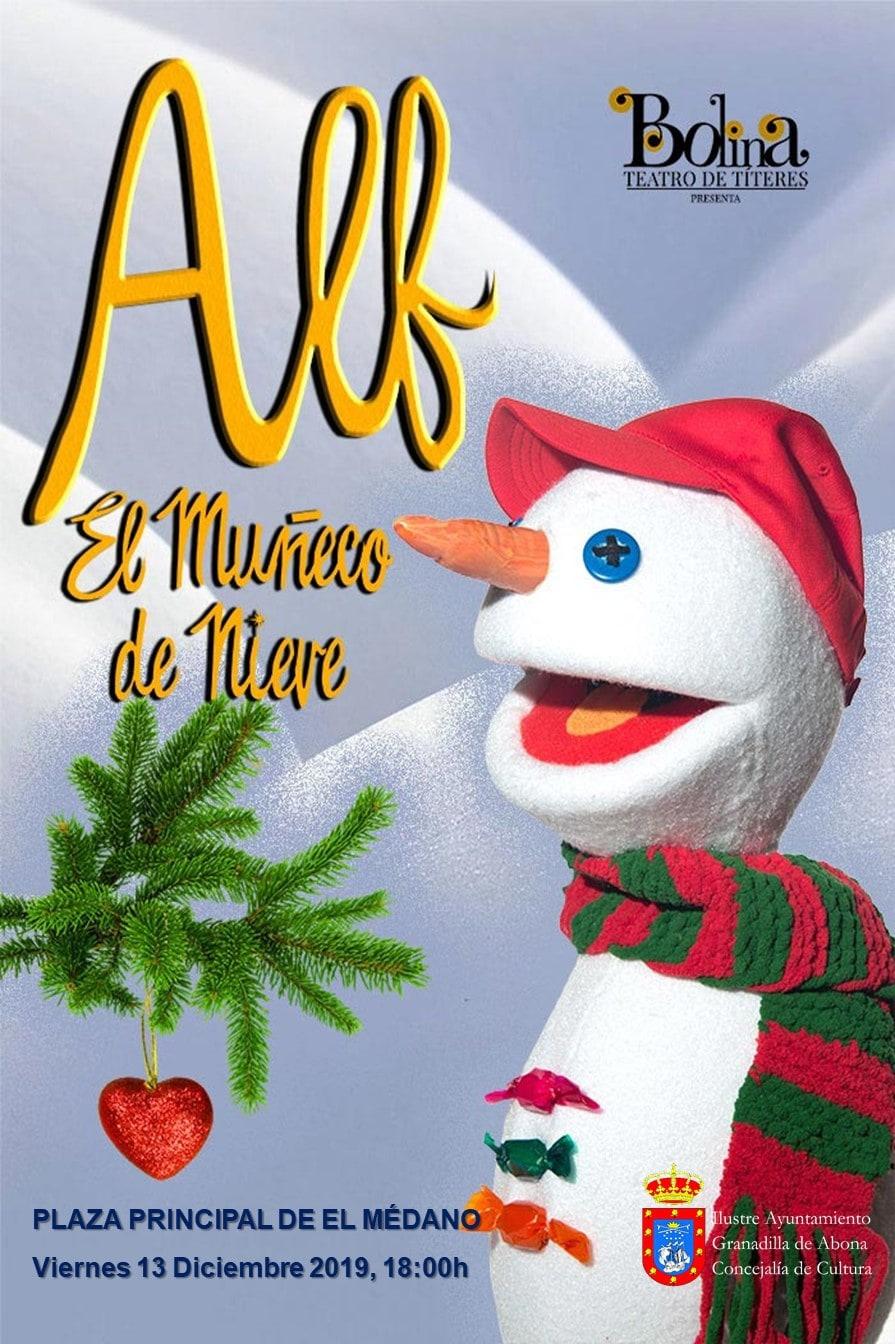 La obra de teatro 'Alf, el muñeco de nieve', este viernes en la Plaza Central de El Médano