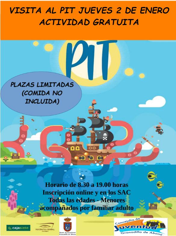El plazo para inscribirse a la 'Visita al PIT' del próximo 2 de enero finaliza este viernes