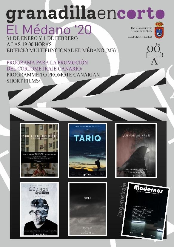 'granadillaencorto El Médano 2020', este viernes y sábado en el M3