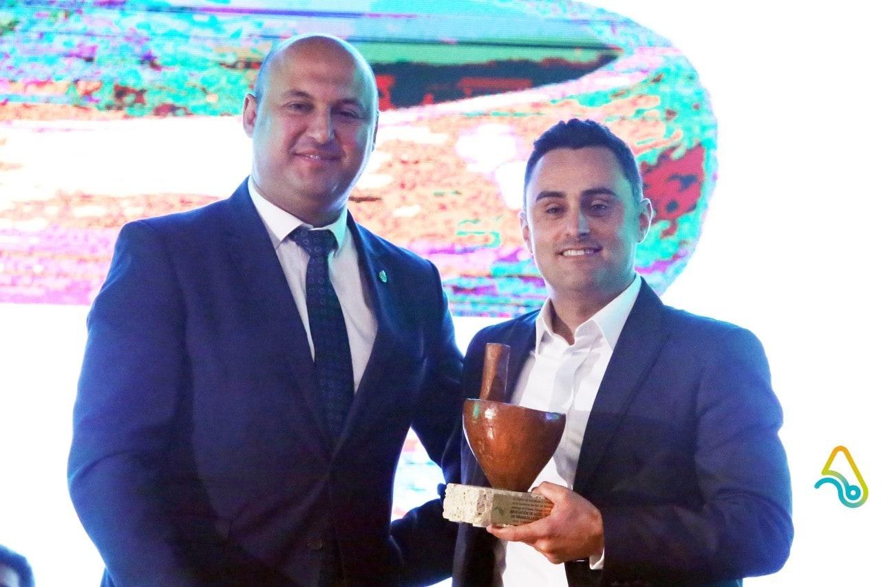 Uno de los premios 'Gánigo 2019' entregados por el CIT Sur fue para la Asociación de Autotaxis de Granadilla de Abona