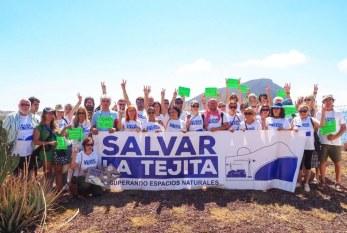 El colectivo 'Salvar la Tejita' convoca una concentración para este viernes frente al Servicio Provincial de Costas