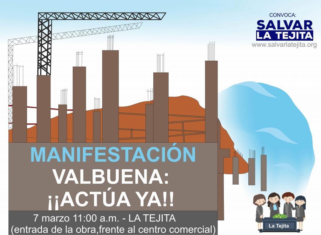 Este sábado, a las 11:00 horas, manifestación convocada por la plataforma ciudadana 'Salvar La Tejita' para parar las obras del hotel que se construye en La Tejita - LaRendija.es