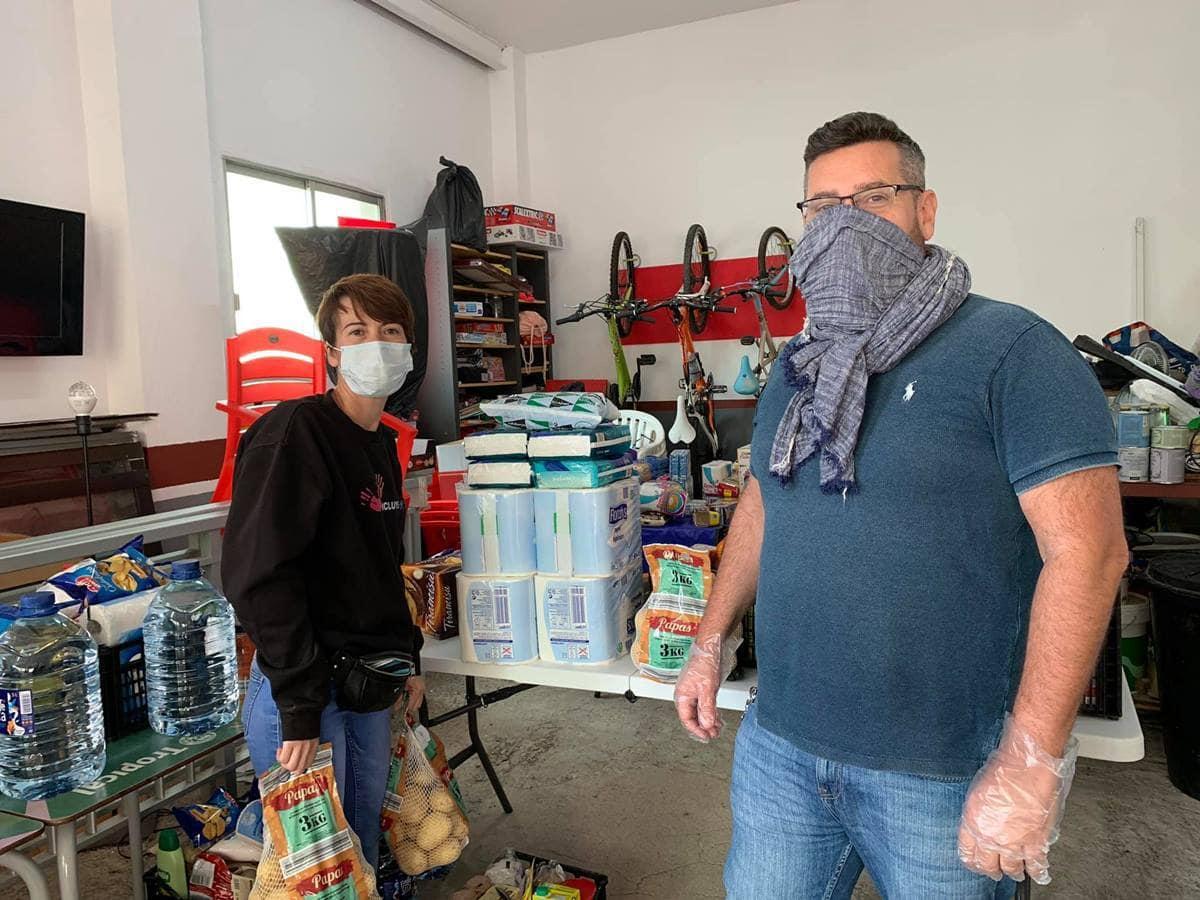 'Inclúyeme', la red solidaria que nació en Los Abrigos y su ejemplar labor en esta pandemia