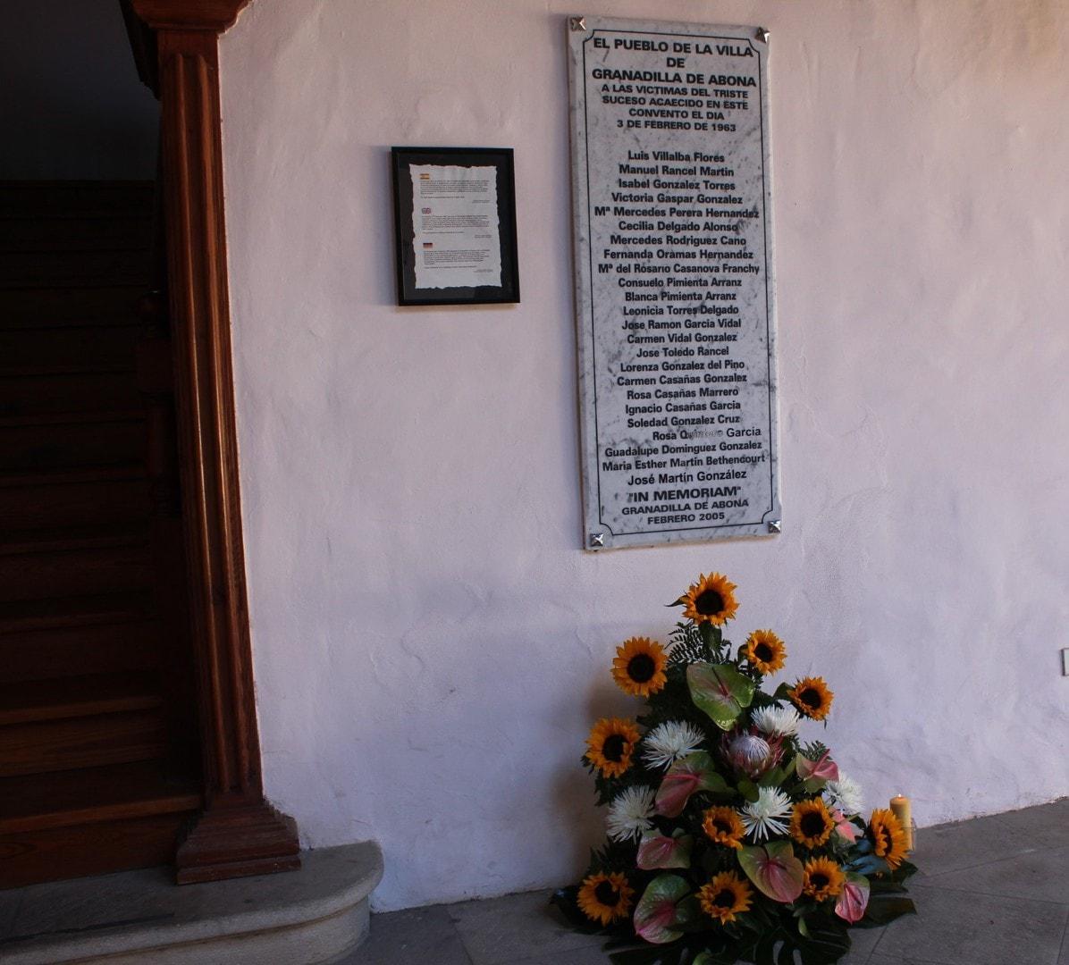 El 'recuerdo' de la catástrofe del Convento de 1963