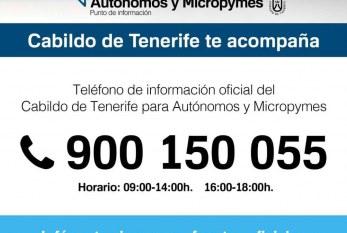 Subvenciones directas por parte del Cabildo para autónom@s y micropymes afectad@s por la crisis del Covid-19