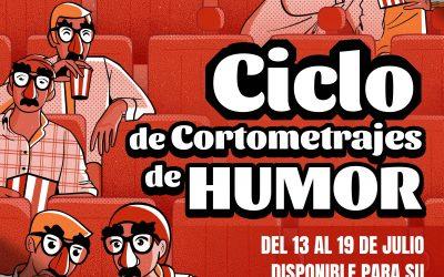 Ciclo virtual de 'Cortometrajes españoles de humor', desde el lunes día 13 al domingo día 19 de julio