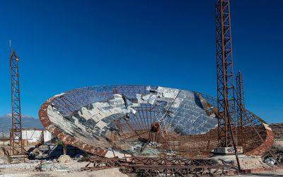 La central termoeléctrica solar abandonada en El Médano (I)