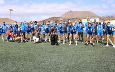 La UD Granadilla Tenerife Egatesa ante su sexta temporada en la élite del fútbol femenino nacional