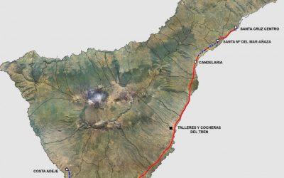 El 'Tren del Sur', un polémico proyecto que si se lleva a cabo contaría con dos paradas en Granadilla de Abona (I)