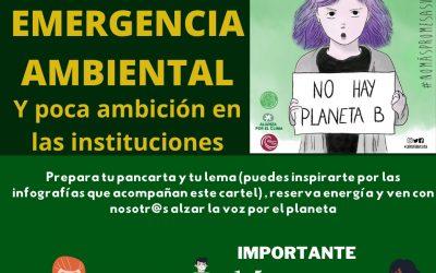 'Acción Global por el Clima': Concentración este viernes 19 de marzo a las 17,00 horas frente al Cabildo Insular