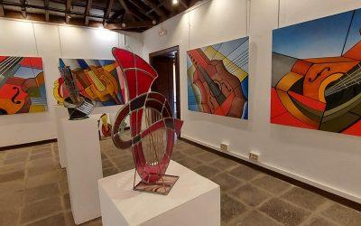 'Luz y Color', una exposición de arte vitral de Orlando Chacón, hasta el 30 de abril en el Museo de Historia de Granadilla de Abona