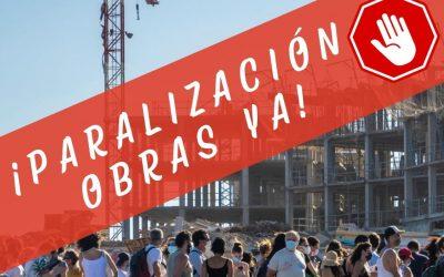 Concentración 'Stop Hotel La Tejita': este domingo 20 de junio a las 11,30 horas