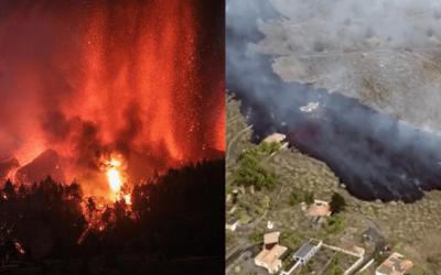 El suceso del volcán de Cumbre Vieja en imágenes (I)